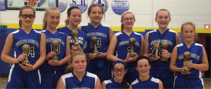 WCMS 2015-2016 Girls Basketball