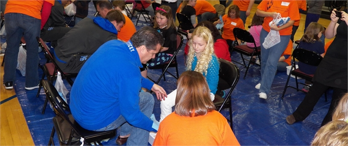 Samaritan's Feet project