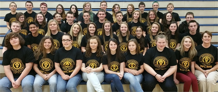WCMS Jr. Beta Club 2015-2016